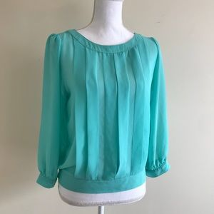 F21 Pleated Blouse